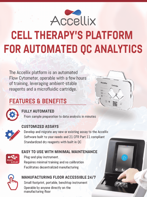 cell therapy platform...