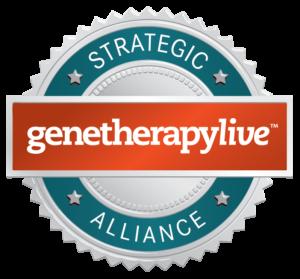 GeneTherapyLive Partnership Seal