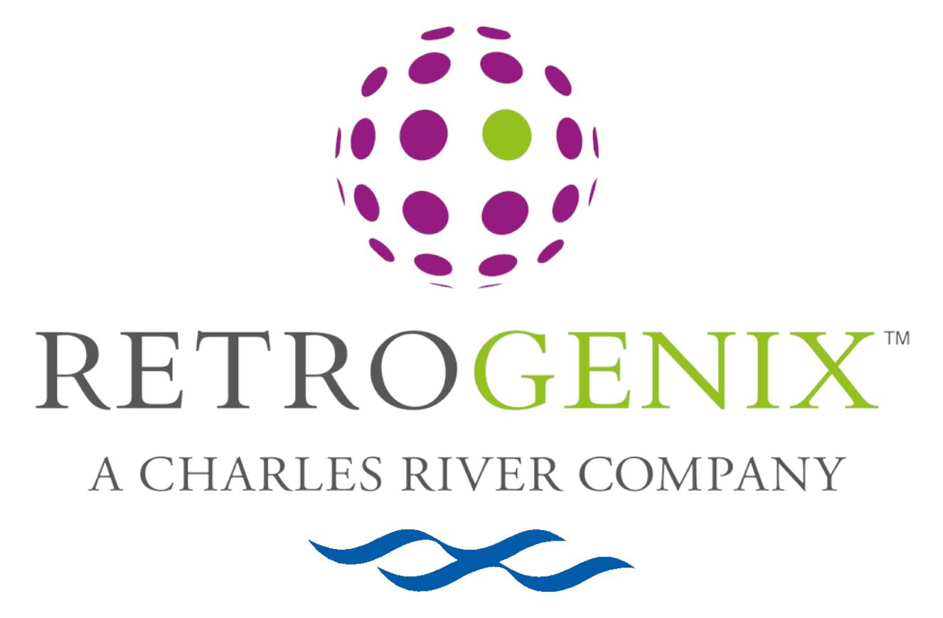 Retrogenix Logo Variation 1 - Solid Background